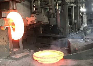 Forging of A105 flanges