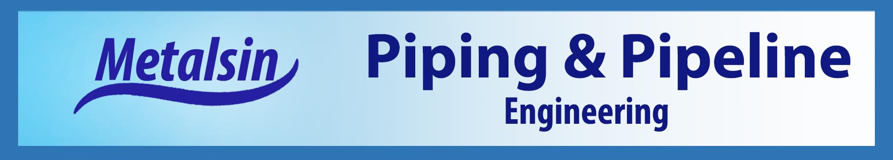 piping and pipeline engineering, piping material supply