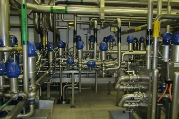 A process piping system