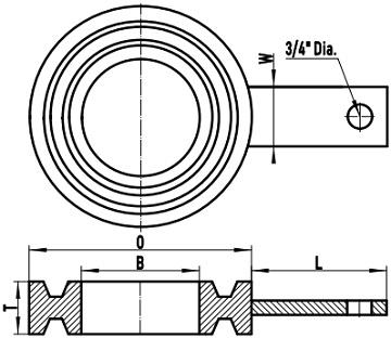 ASME B16.48 F/RTJ ring spacer