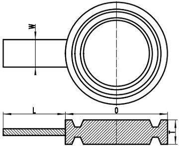 ASME B16.48 F/RTJ spade flange