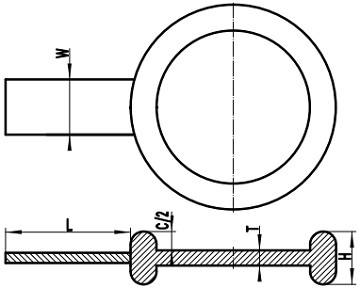 ASME B16.48 MRTJ spade blank