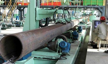 EFW (SAW) ASTM A134 pipes