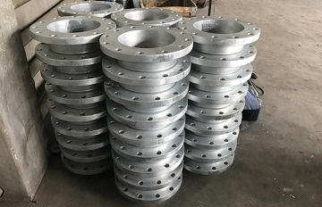 Hot Dip Galvanization | 10″ 150# WNRF SCH40
