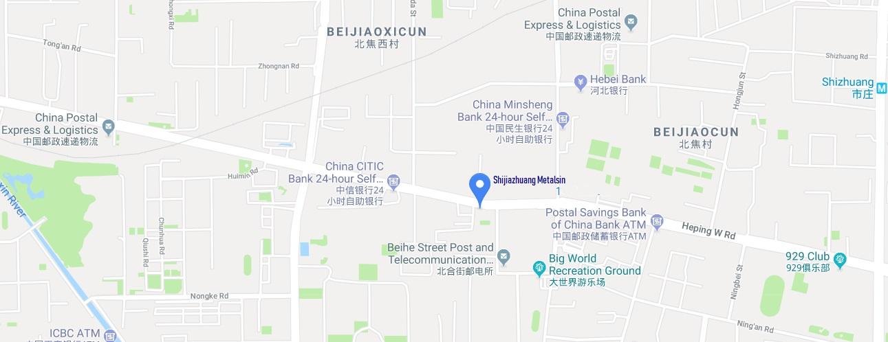 Shijiazhuang Metalsin Address