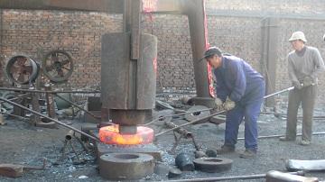 open-die forging