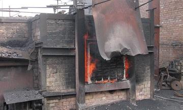 Pre-forging heating