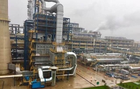 An oil refinery of CNPC