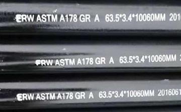 ASTM A178 Gr.A tubes