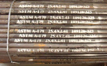 ASTM A179 seamless tubes