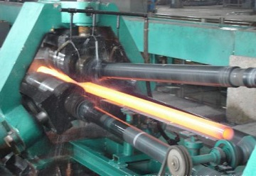 Seamless tube hot-rolling line