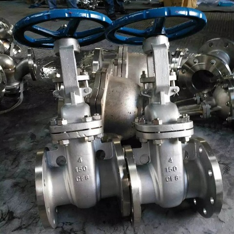 API 6D cast ss304 gate valves
