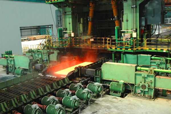 Plate rolling mill
