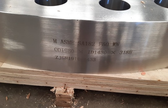 ASTM A182 F60 large foring