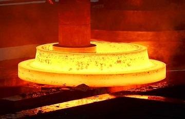 Hot forging, ASTM A182 F51 flange