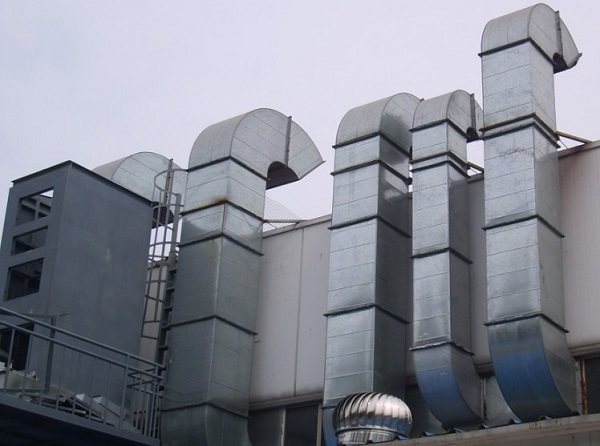 Rectangular venting ducts