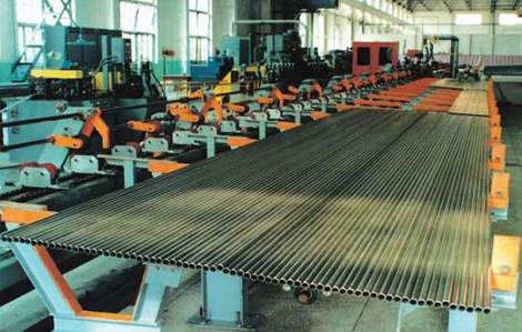 Production line for Ti Gr.2 welded tubes